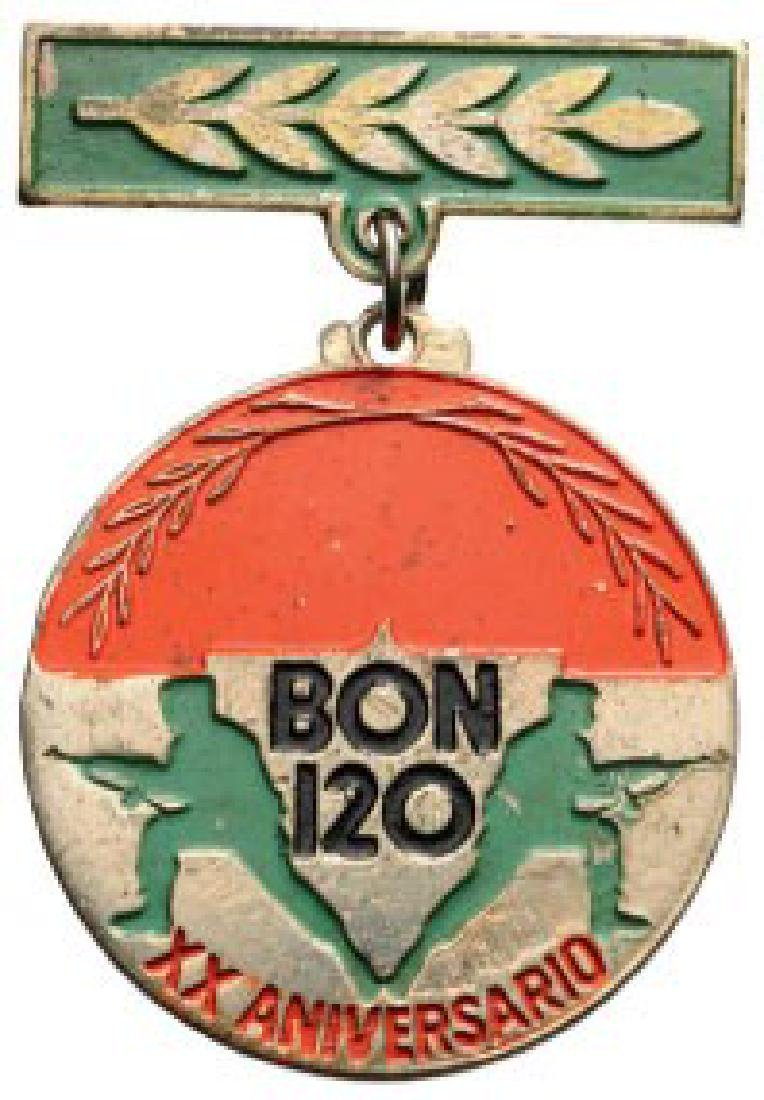 Commemorative Badge of the 20th Anniversary of
