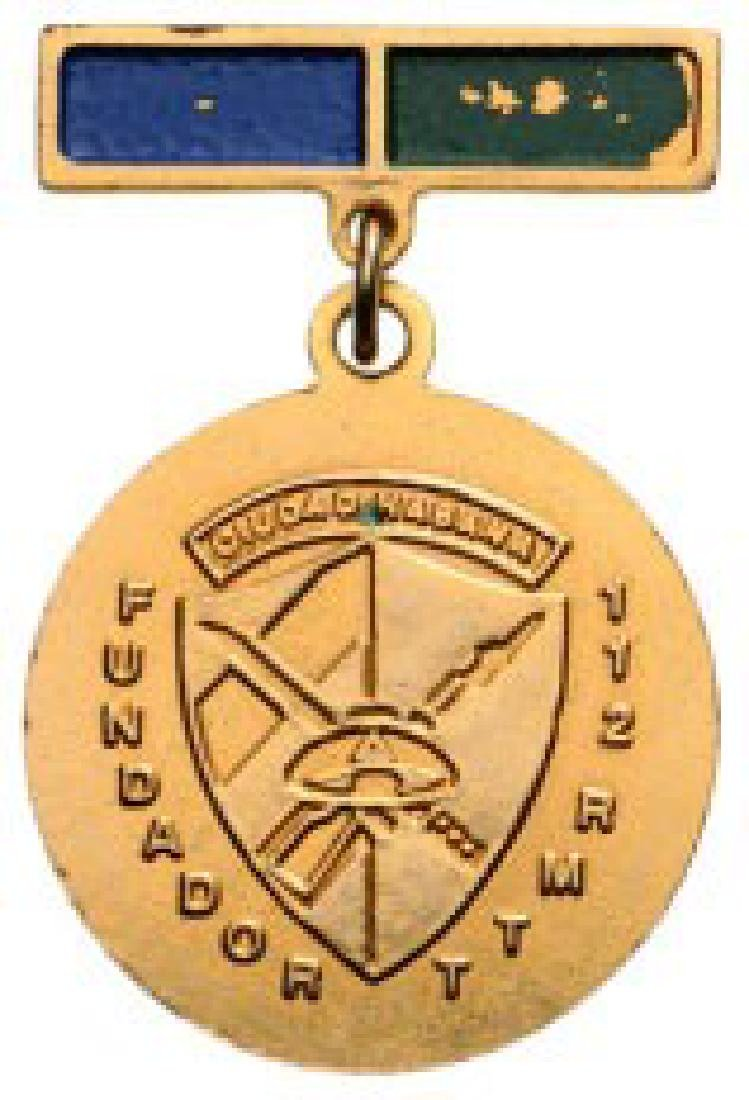 Commemorative Badge of the Foundation of the 112 RMTT