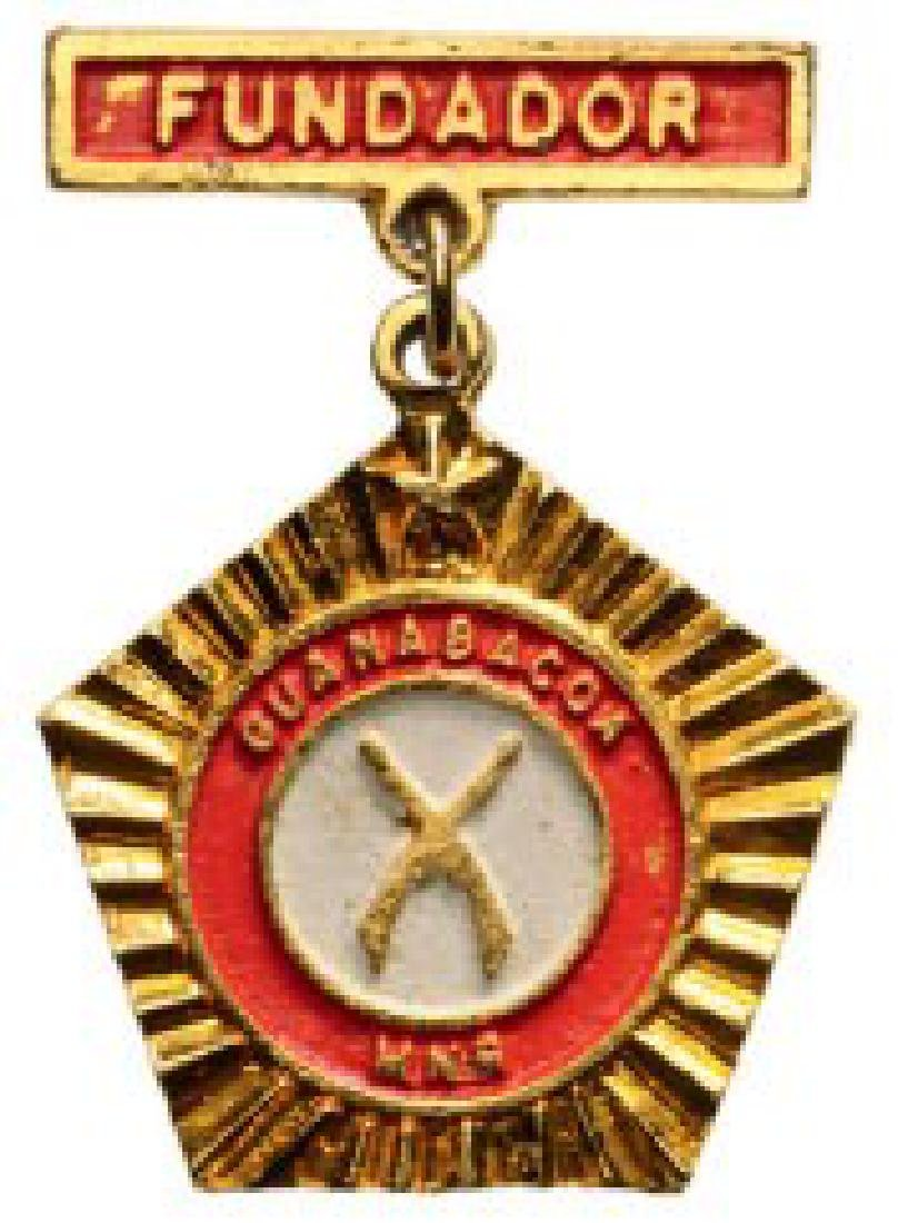 Commemorative Badge of the Foundation of the MNR of the