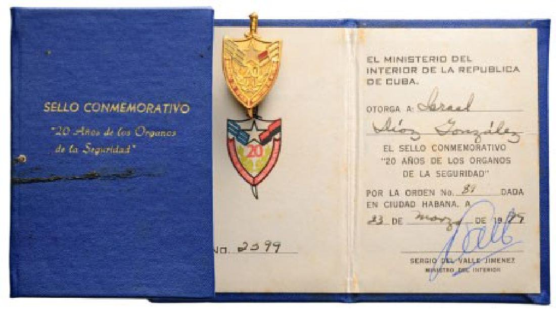 Ministry of Interior Commemorative Badge of the 20