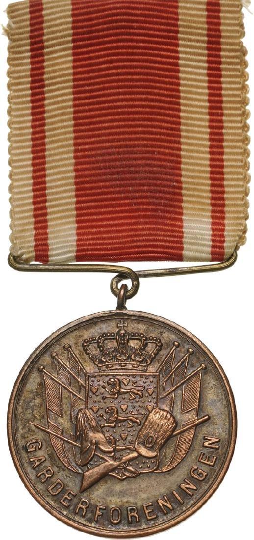Garderforeningen Medal, 1885 Type