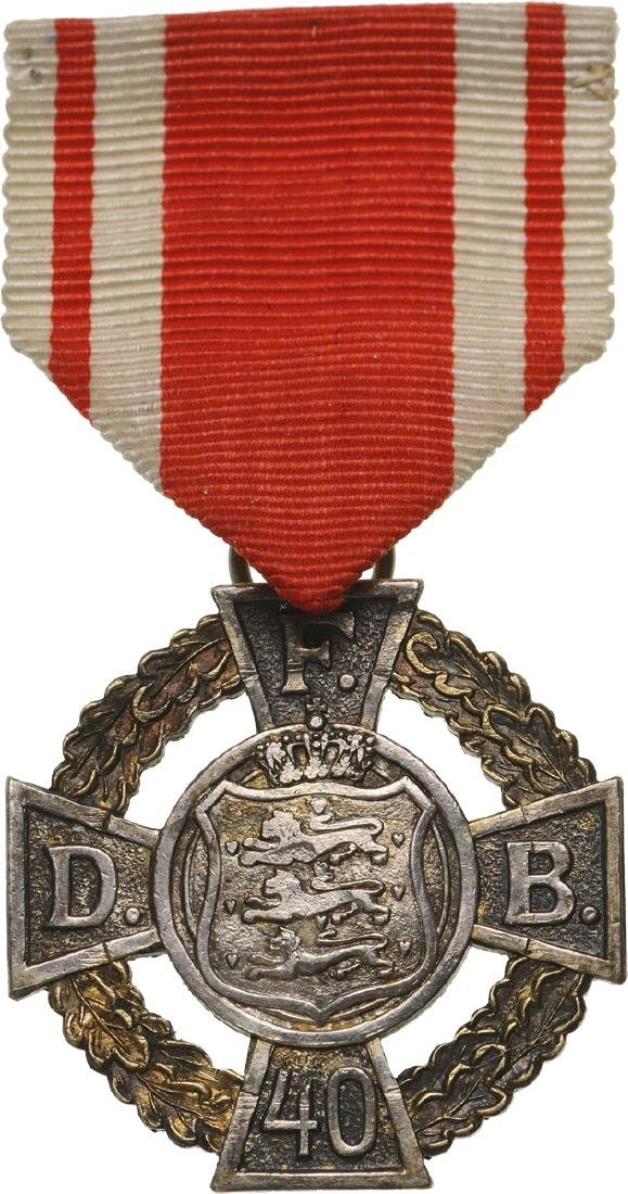 D.F.B. Long Service Medal for 40 Years