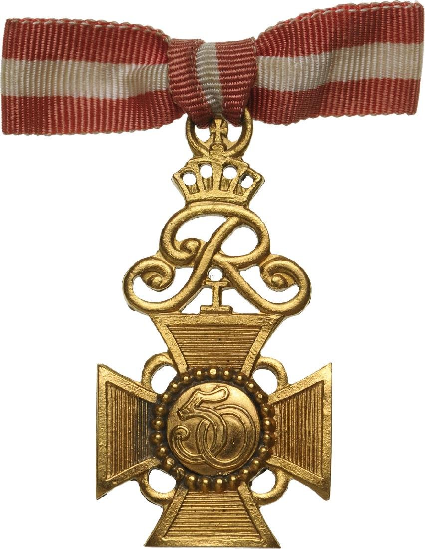 Long Service Cross for 50 Years of Service