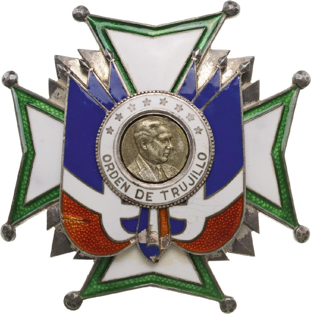HERALDIC ORDER OF TRUJILLO, instituted 1938