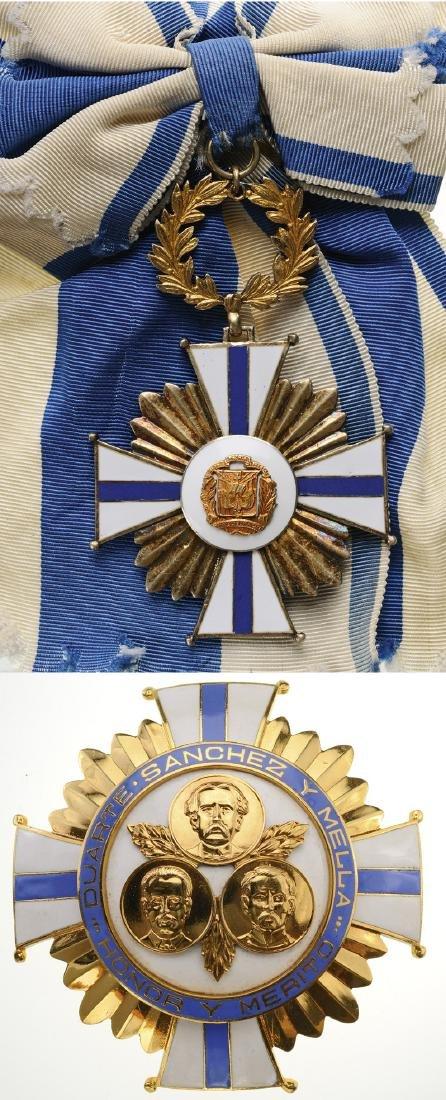 ORDER OF MERIT OF DUARTE SANCHEZ AND MELLA