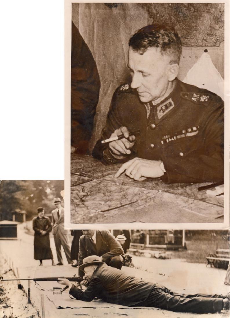 Lot of 3 original press photos