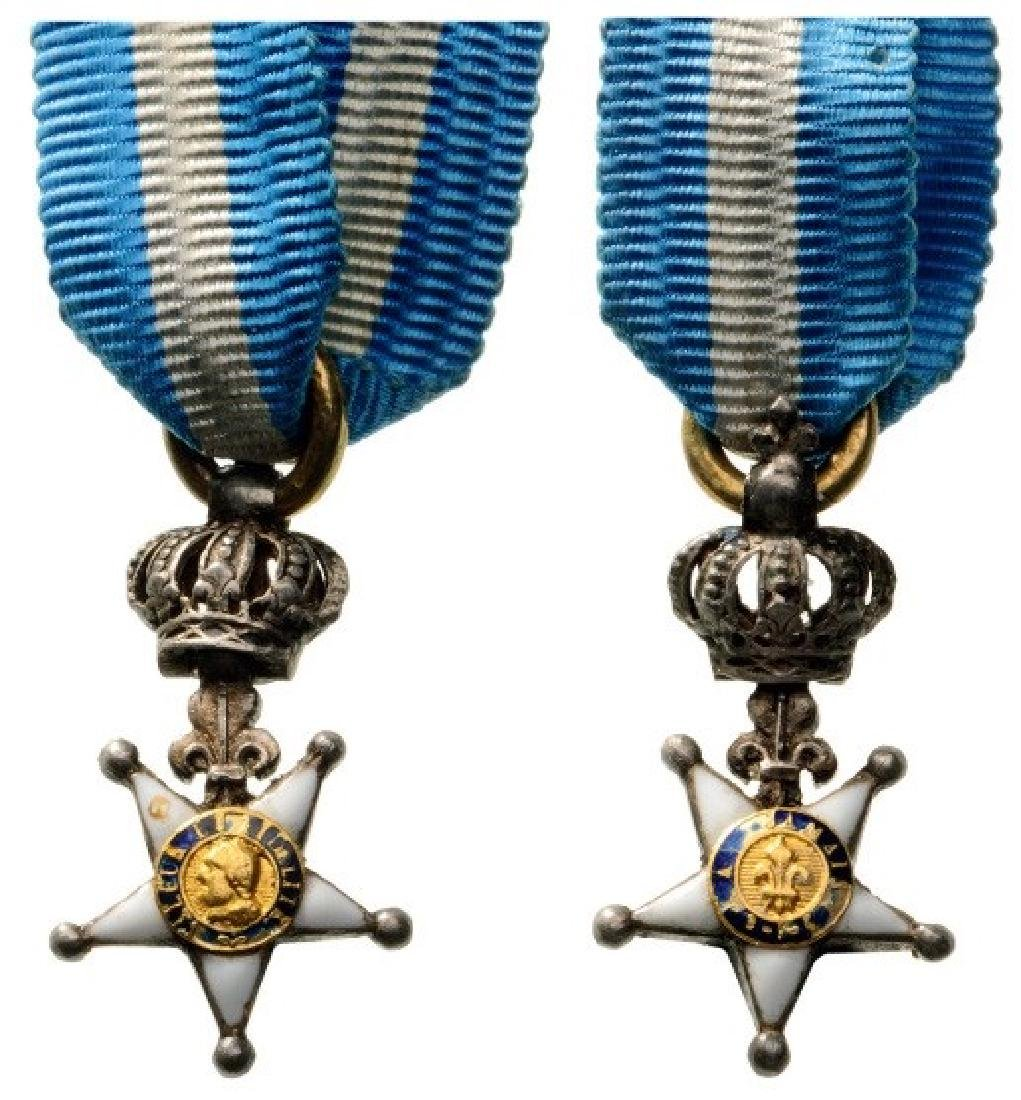 DECORATION OF THE LILY FOR THE NATIONAL GUARD OF PARIS,
