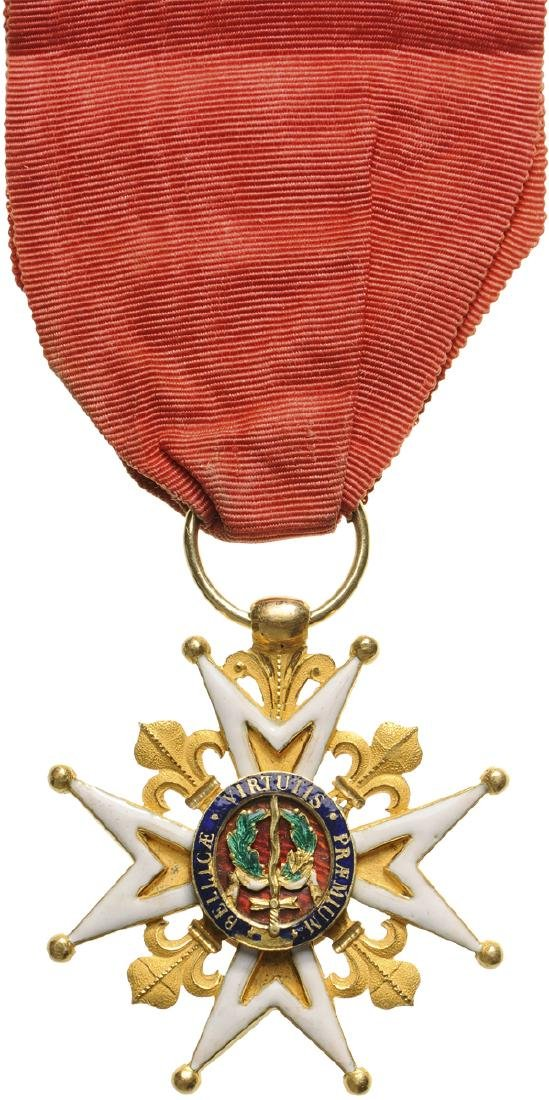 MILITARY ORDER OF SAINT LOUIS, INSTITUTED IN 1693 - 2