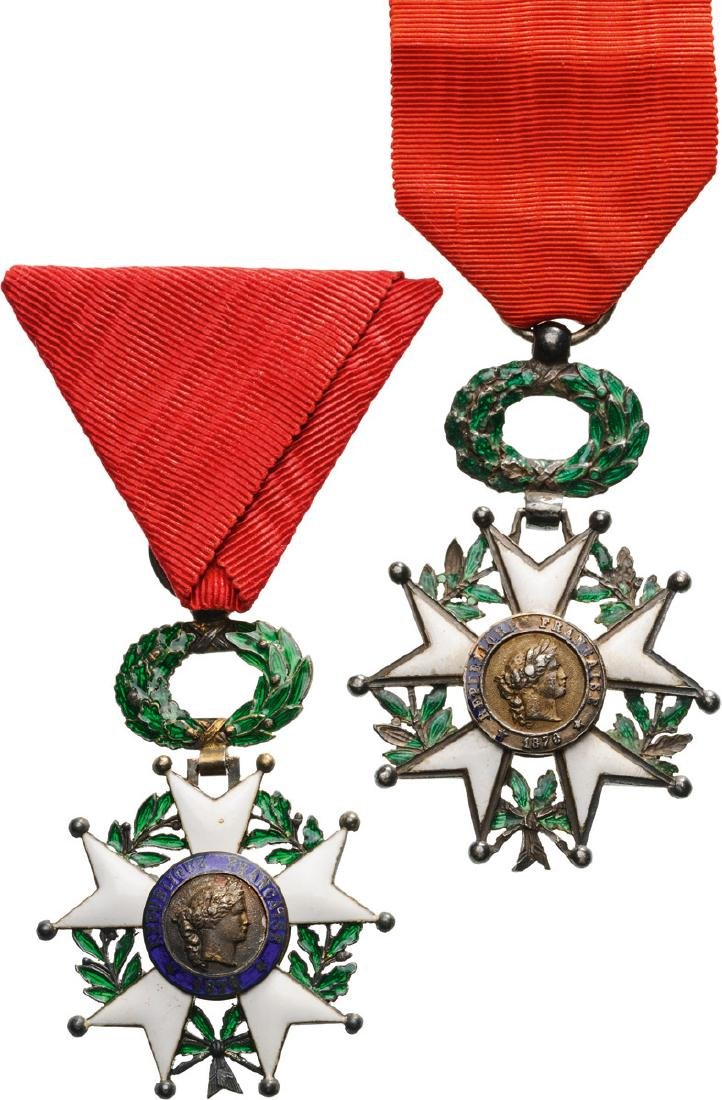 Lot of 5 ORDER OF THE LEGION OF HONOR