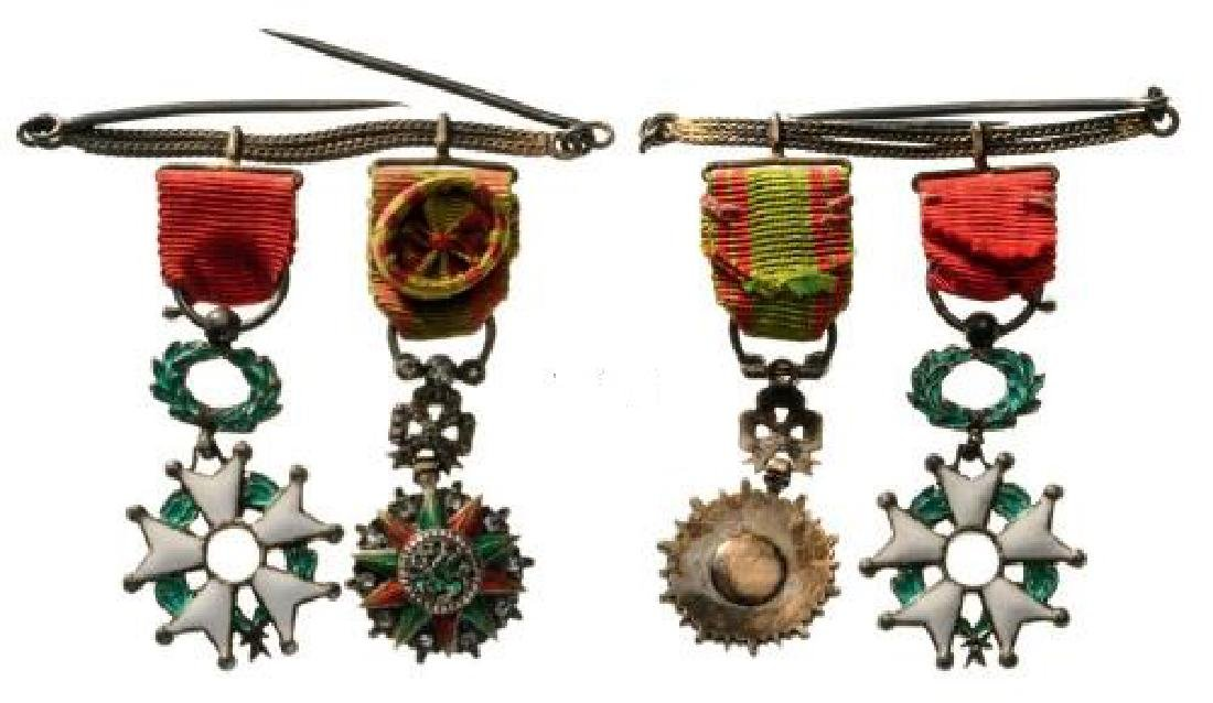 Medal Chain with 2 Decorations