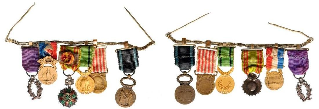 Medal Chain with 6 Decorations