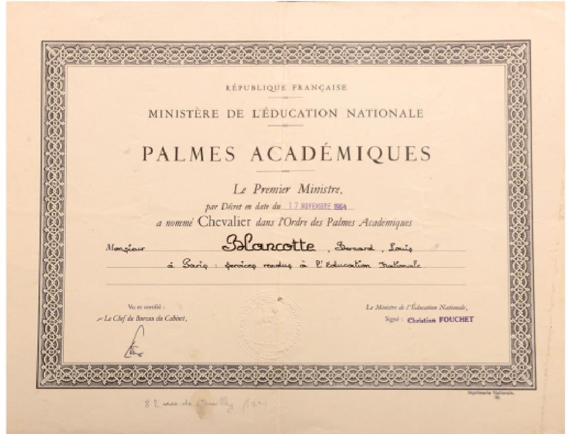 ORDER OF THE ACADEMIC PALMS