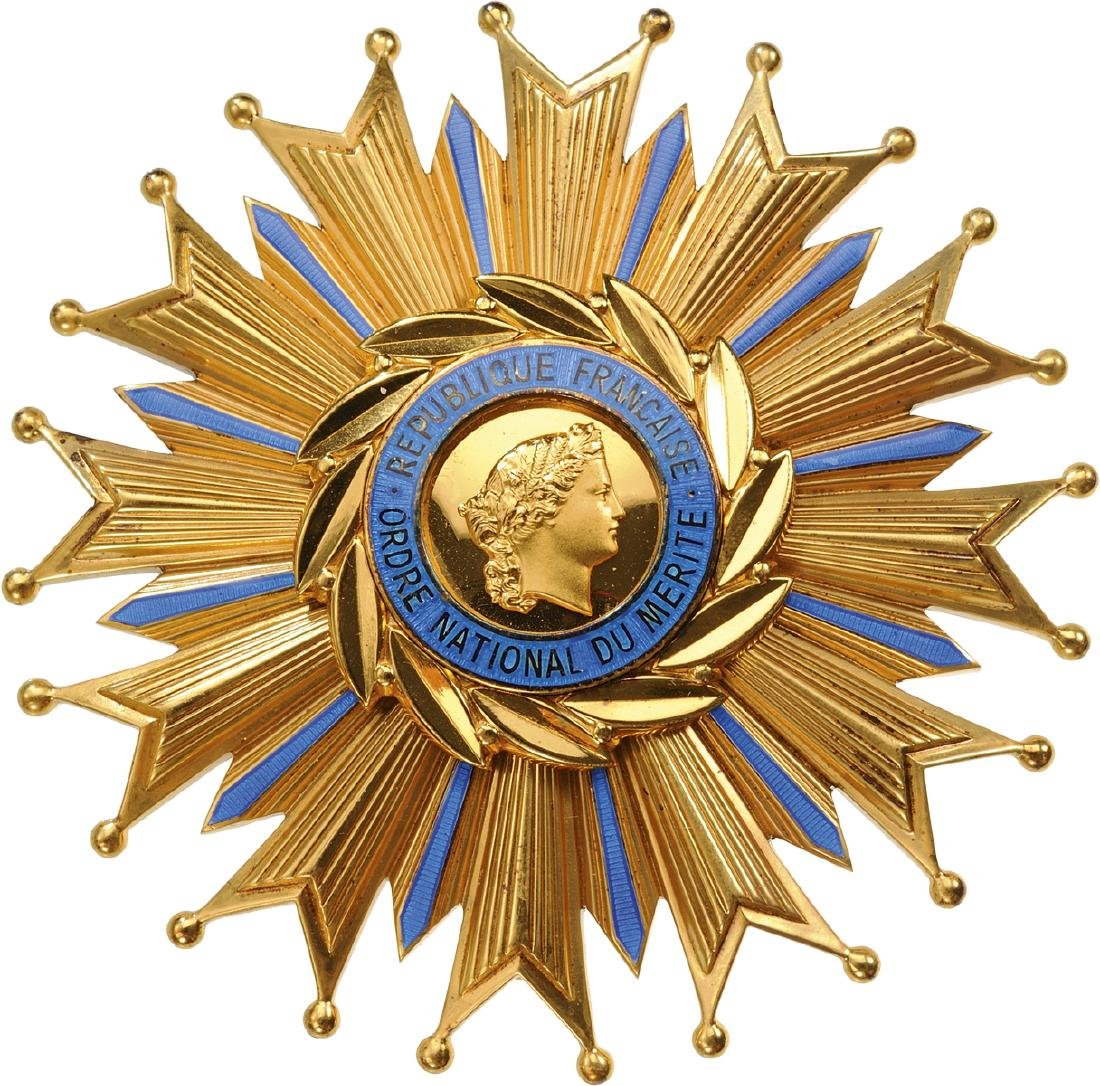 NATIONAL ORDER OF MERIT - 3