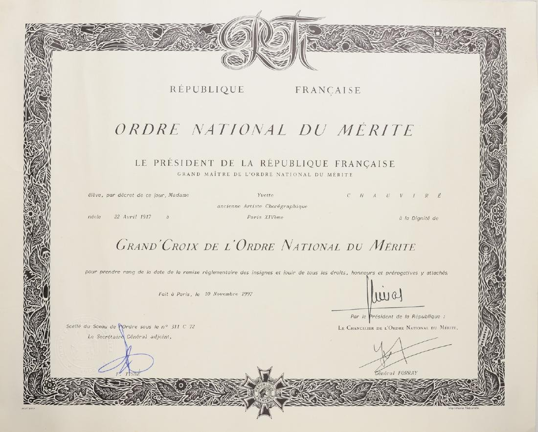 NATIONAL ORDER OF MERIT - 6