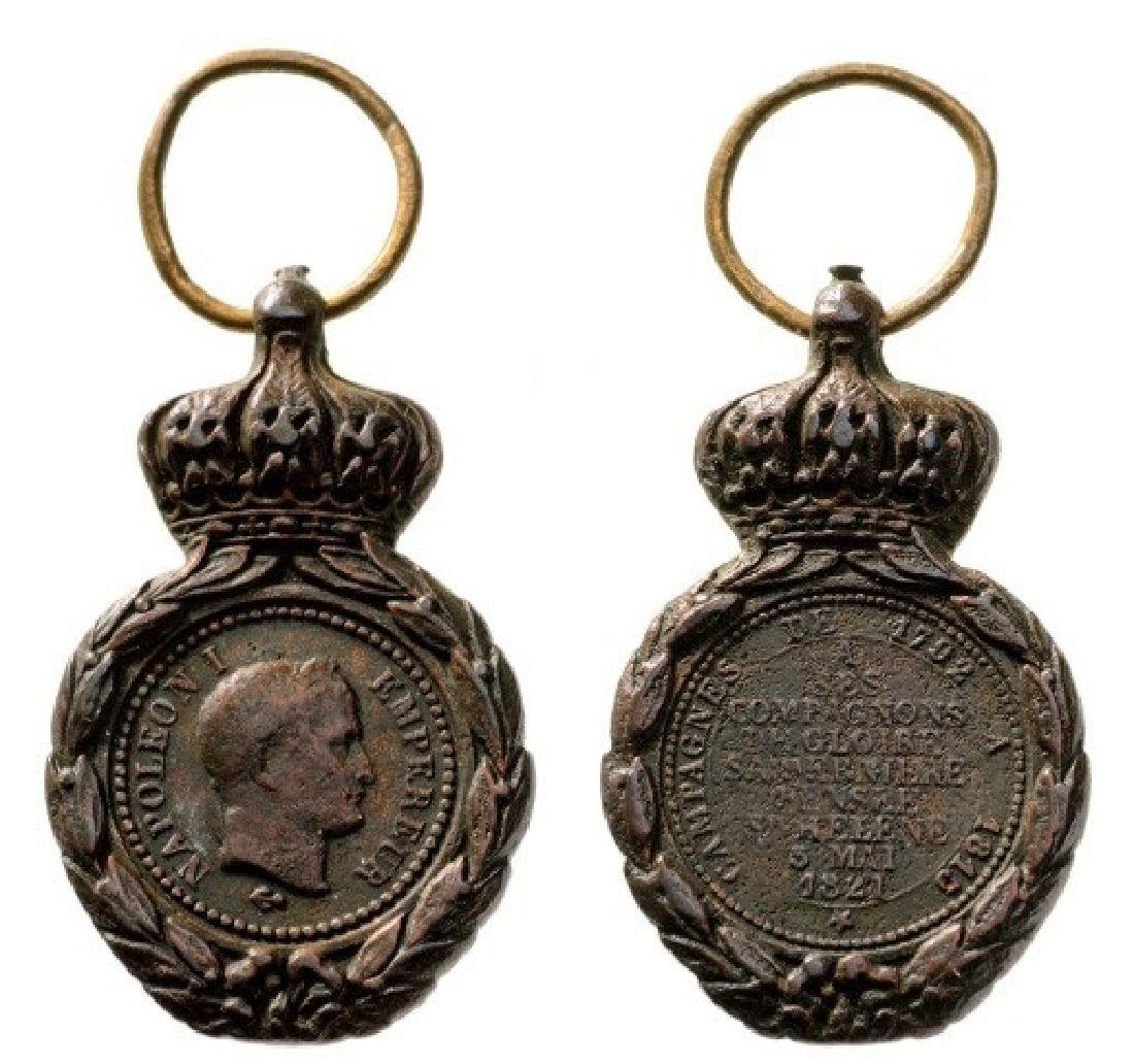 Saint Helena Medal, instituted in 1857