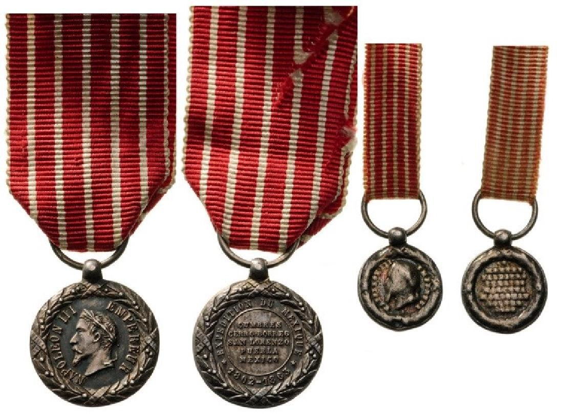 Italy Campaign Medals, both unsigned, instituted in