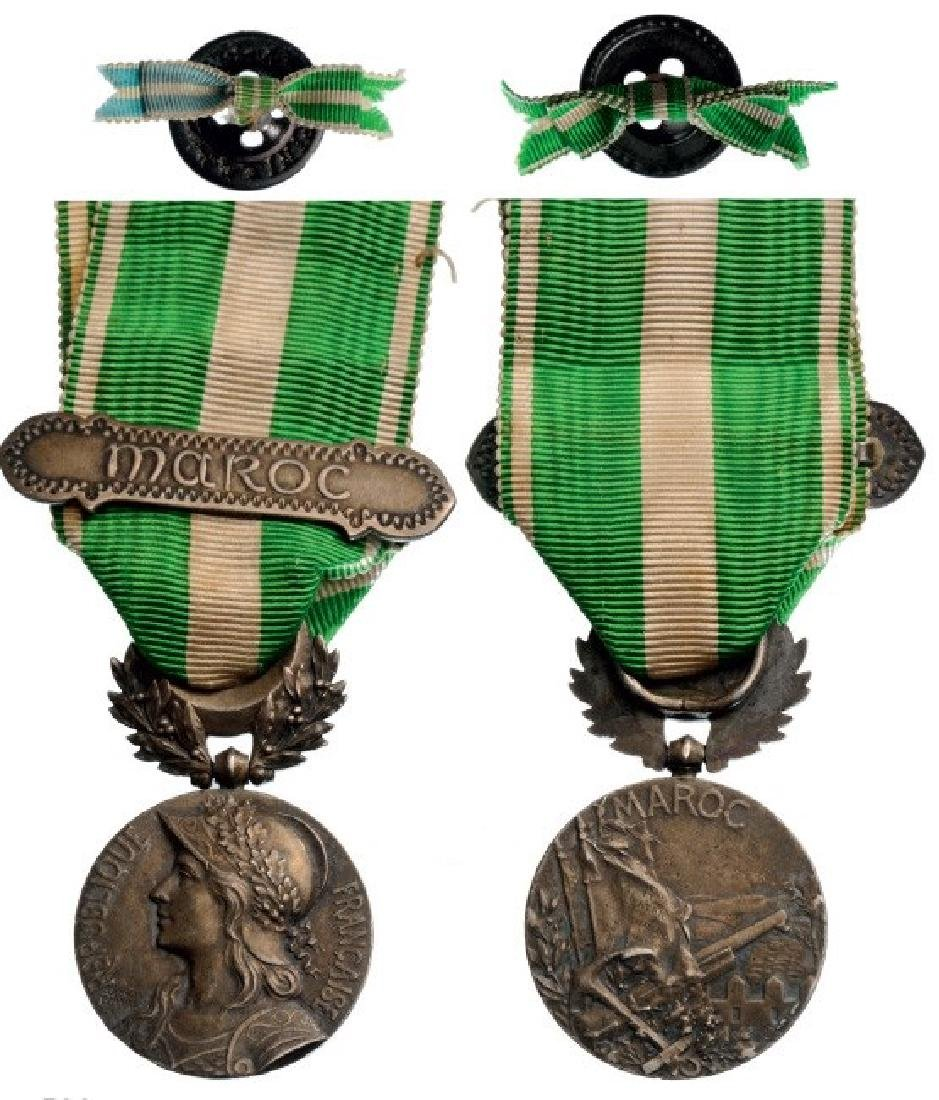 Morocco Campaign Medal, instituted in 1909