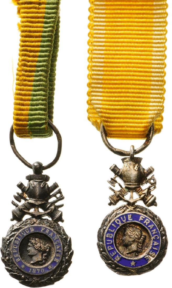 Military Medal, 3rd Republic Type; 4th or 5th Republic