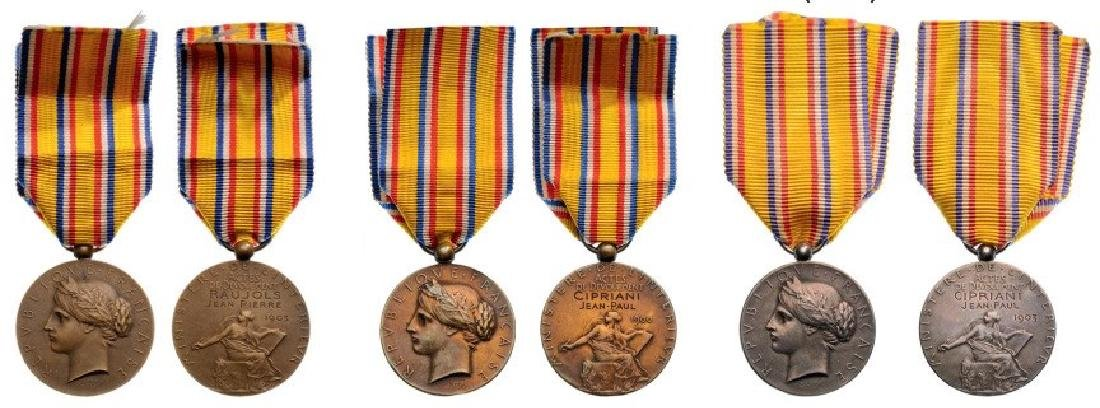 Lot of 3 Ministry of the Interior Honor Medals for