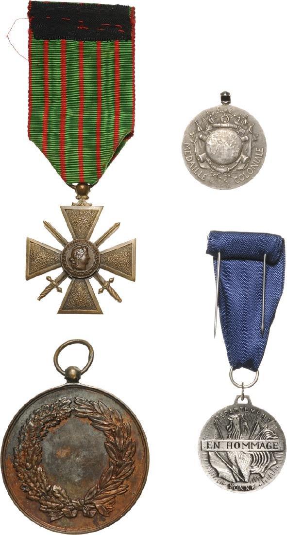 Lot of 4 Medals - 2