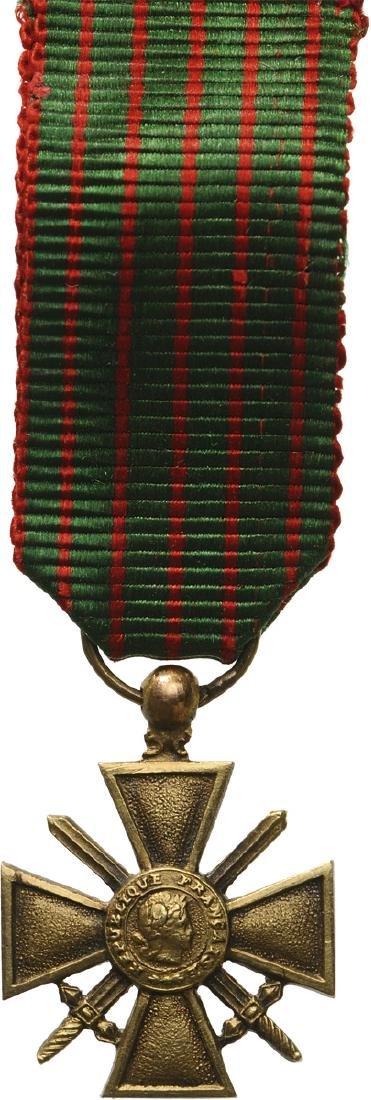 War Cross 1914-1918 Miniature