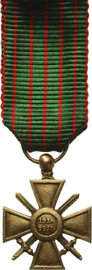 War Cross 1914-1918 Miniature - 2