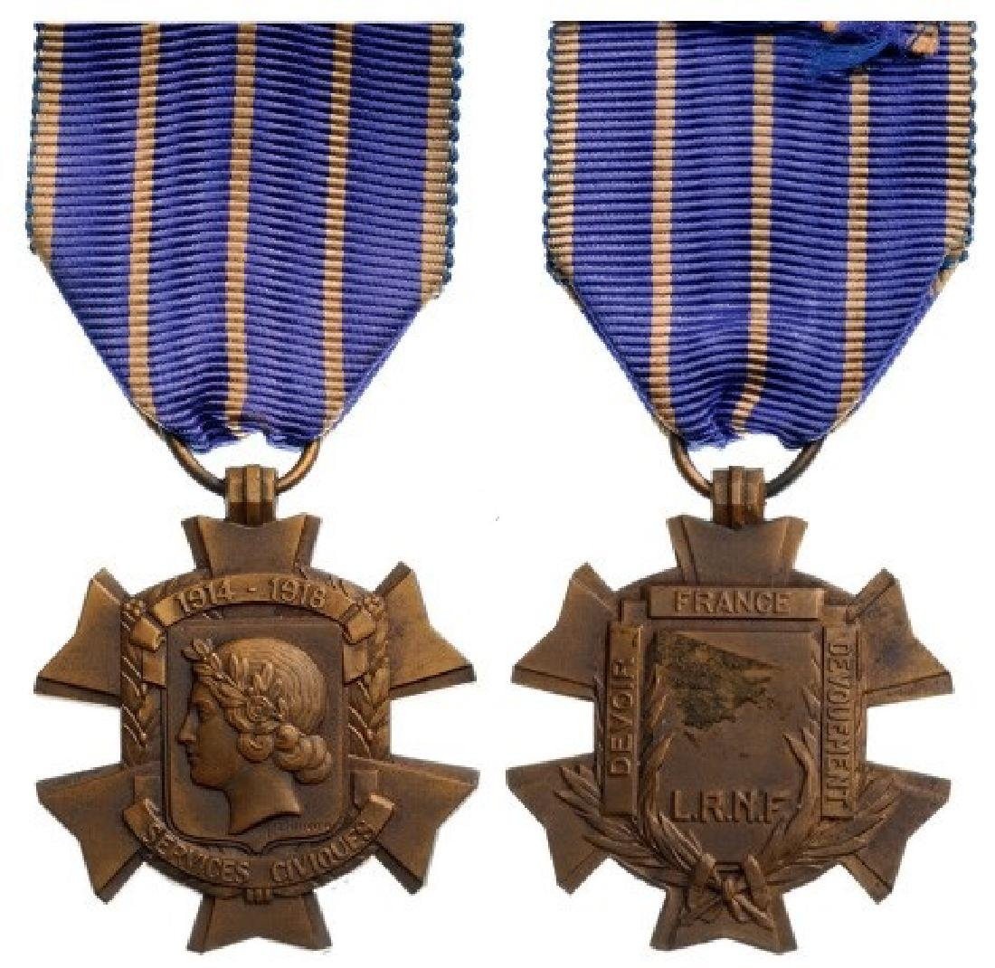 1914-18 Civil Services Medal