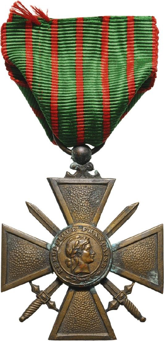 War Cross 1939-40, so called Vichy Type
