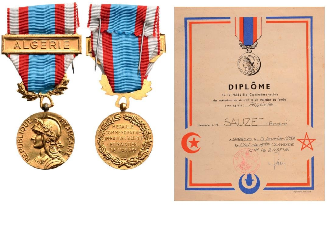 Commemorative Medal for Security Operations to Maintain