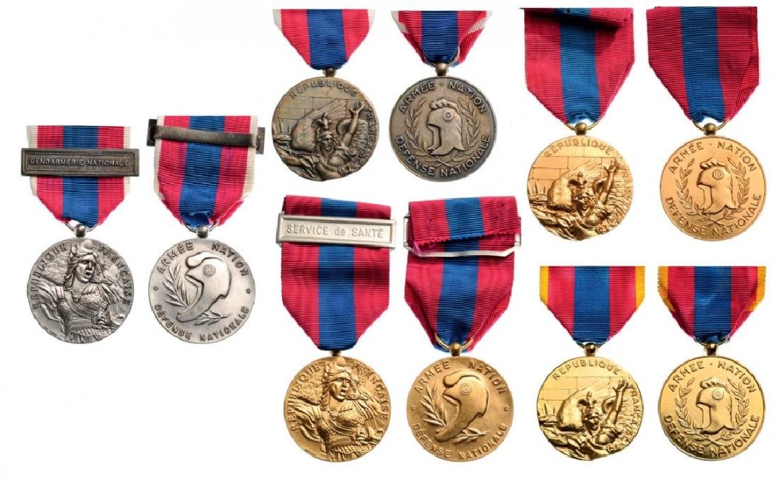 Lot of 5 National Defense Medals, various models