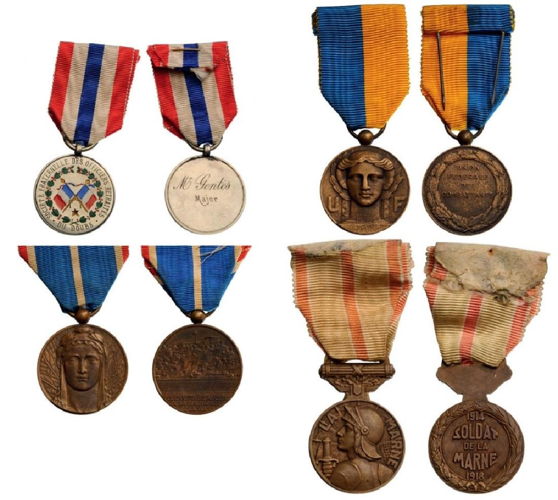 Lot of 4 Commemorative Medals