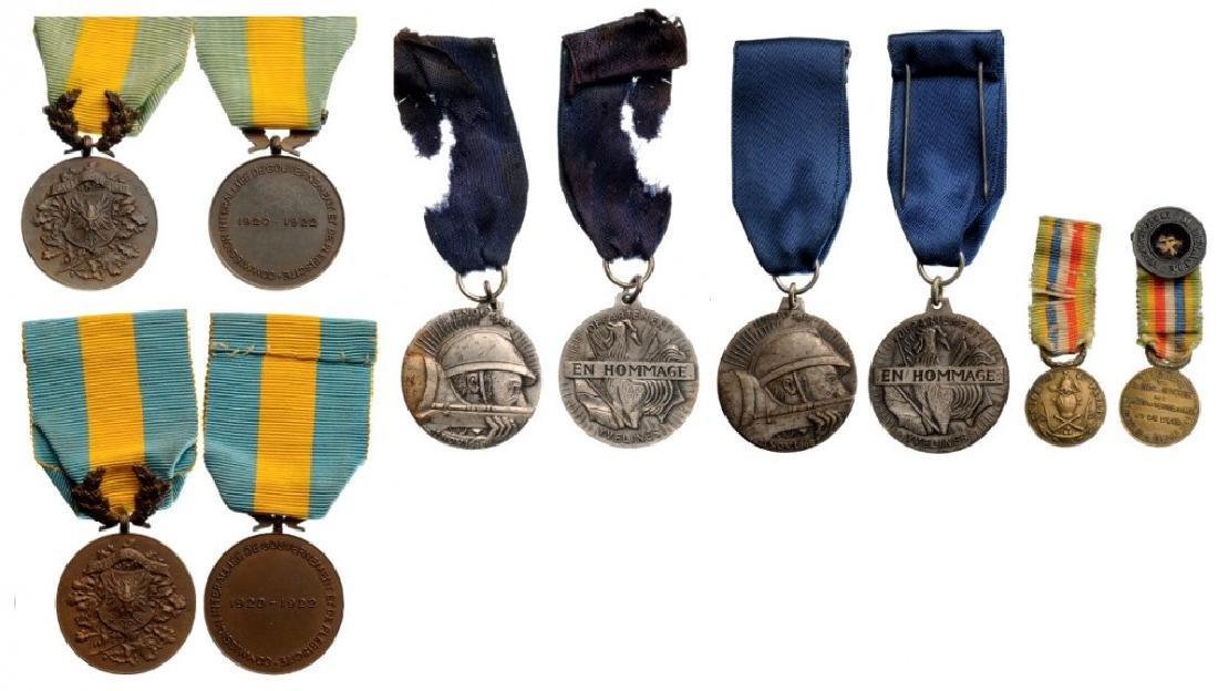 Lot of 5 Commemorative Medals
