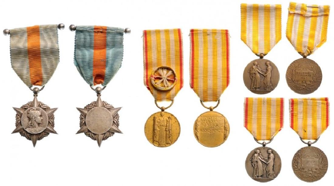 Lot of 4 Public Assistance Honor Medals, 1st, 2nd, 3rd