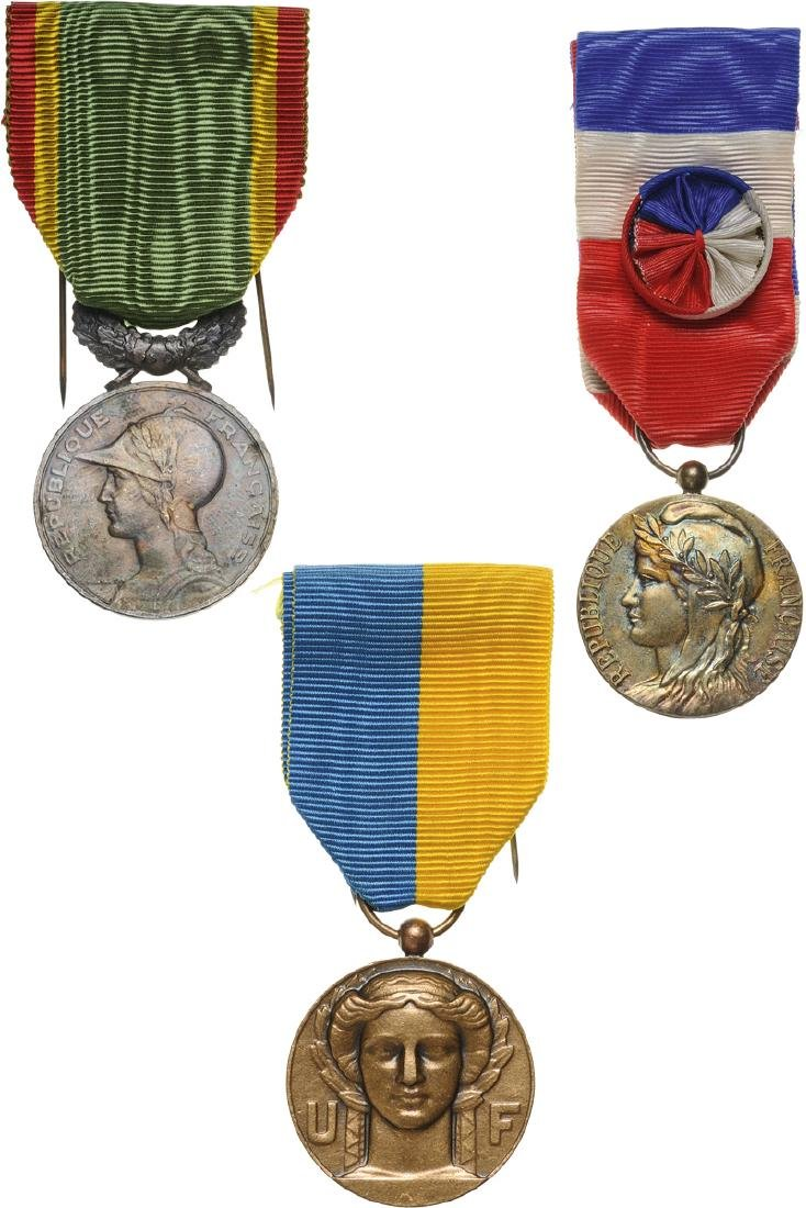Lot of 3 Medal