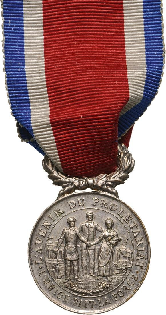 Civil Society of Pension and Mutual Help Medal, 1893