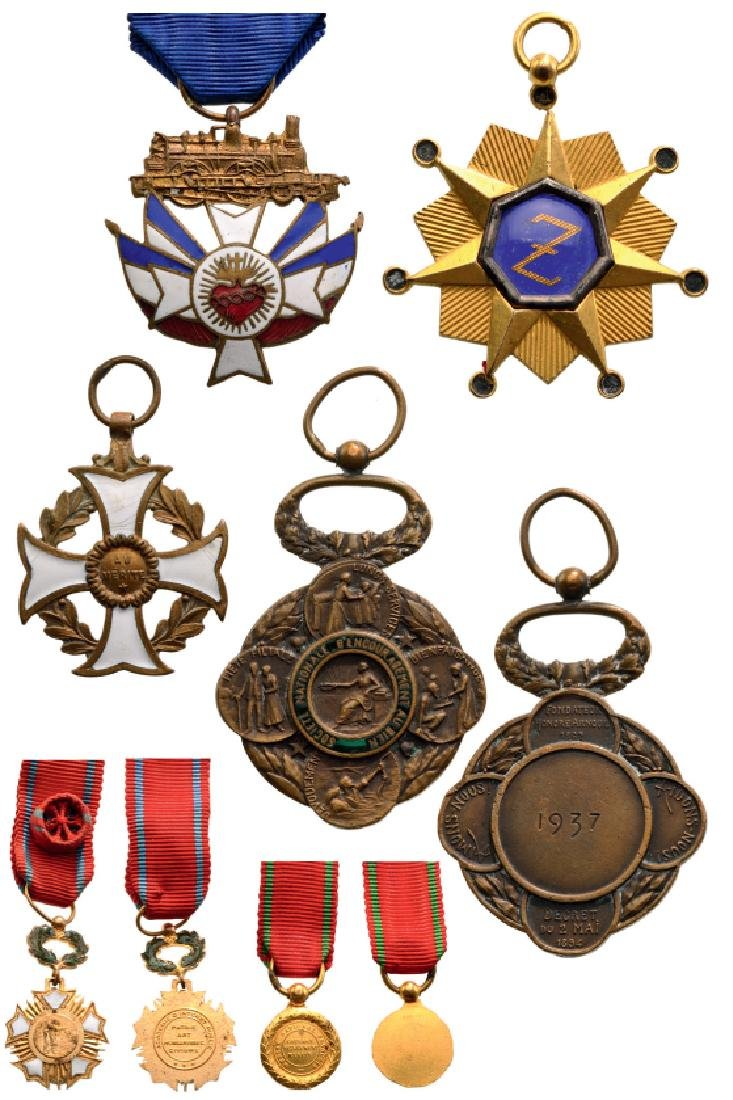 Lot of 6 Medals