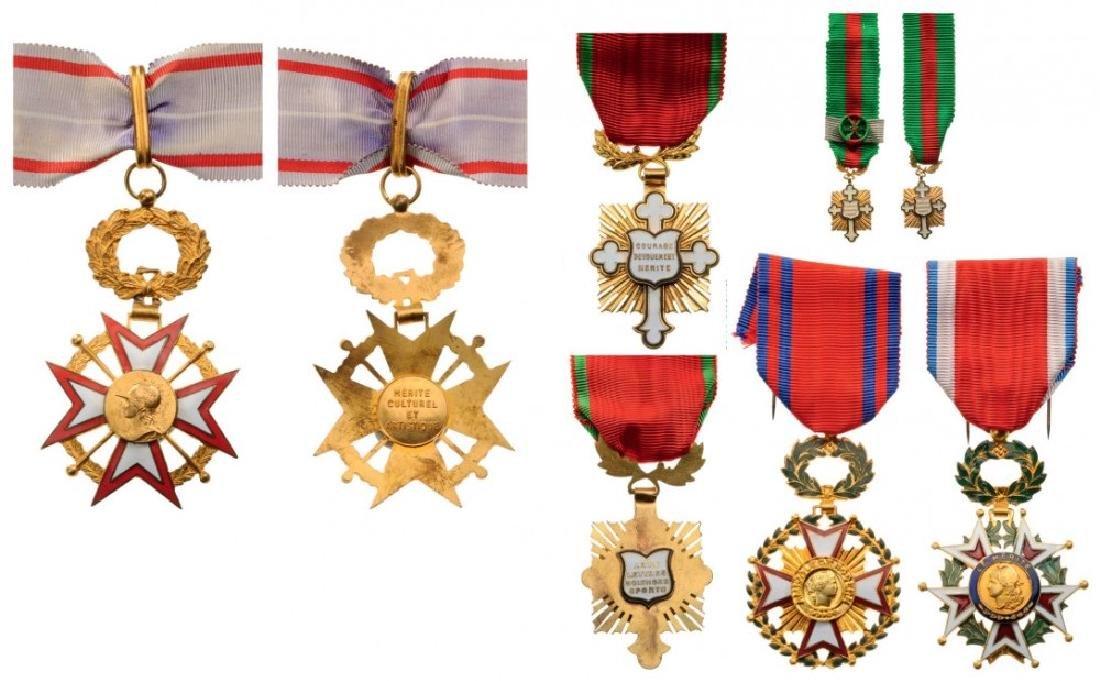 Lot of 6 Medals of various Philanthropic Societies,