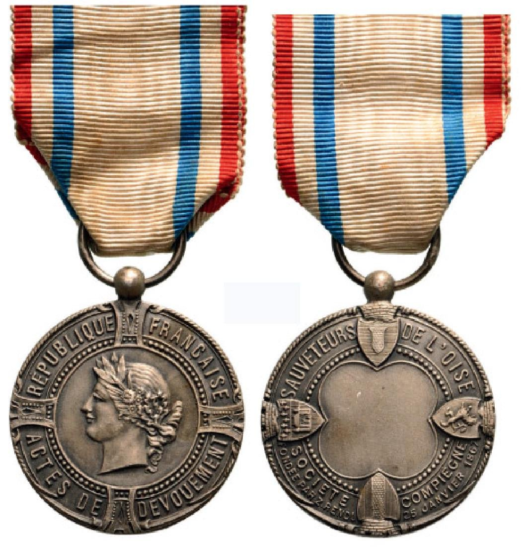 DEPARTMENT OF OISE RESCUERS SOCIETY MEDAL