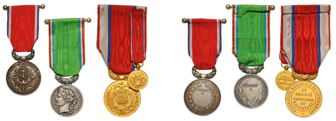 Lot of 4 Medals