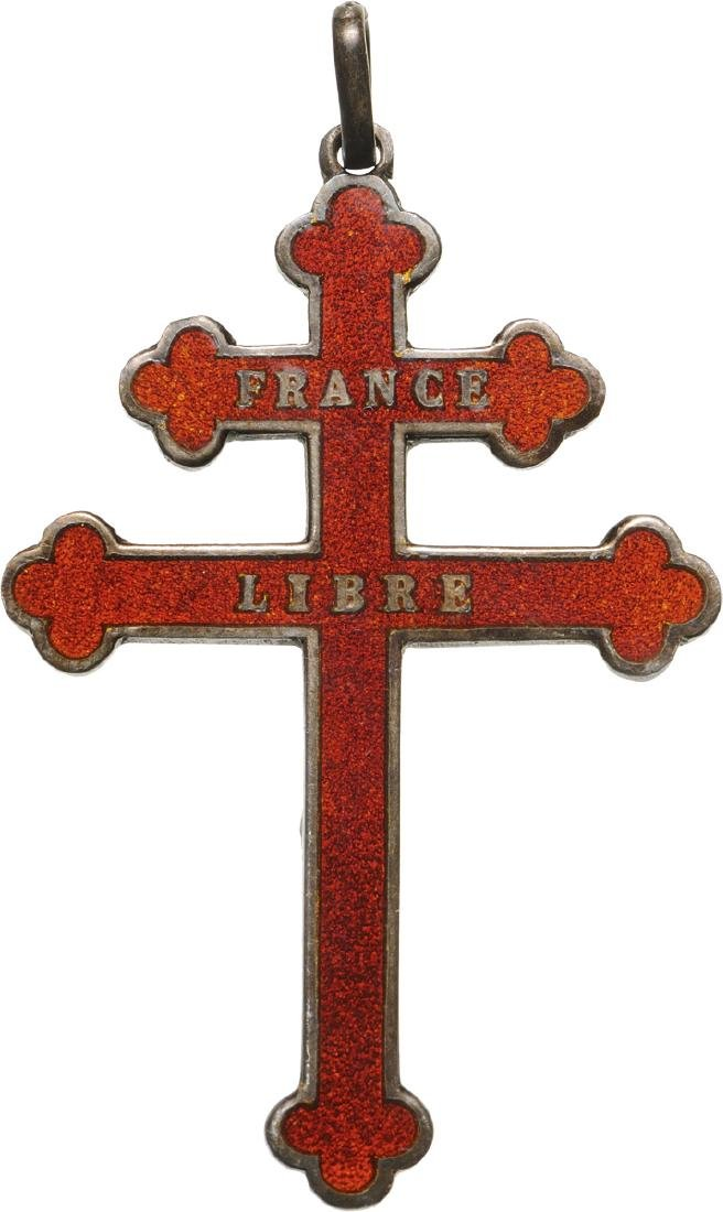 France Libre Badge, made in Cuba