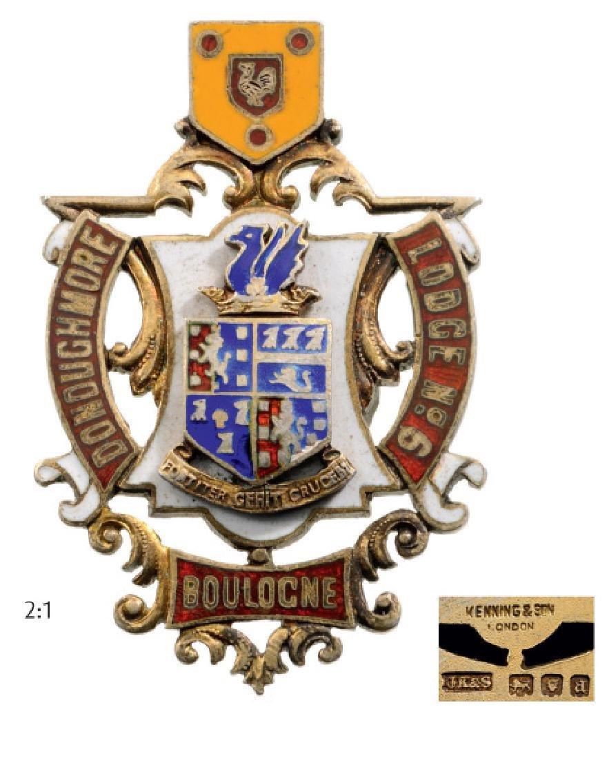 "British ""Boulogne"" Lodge Medal"