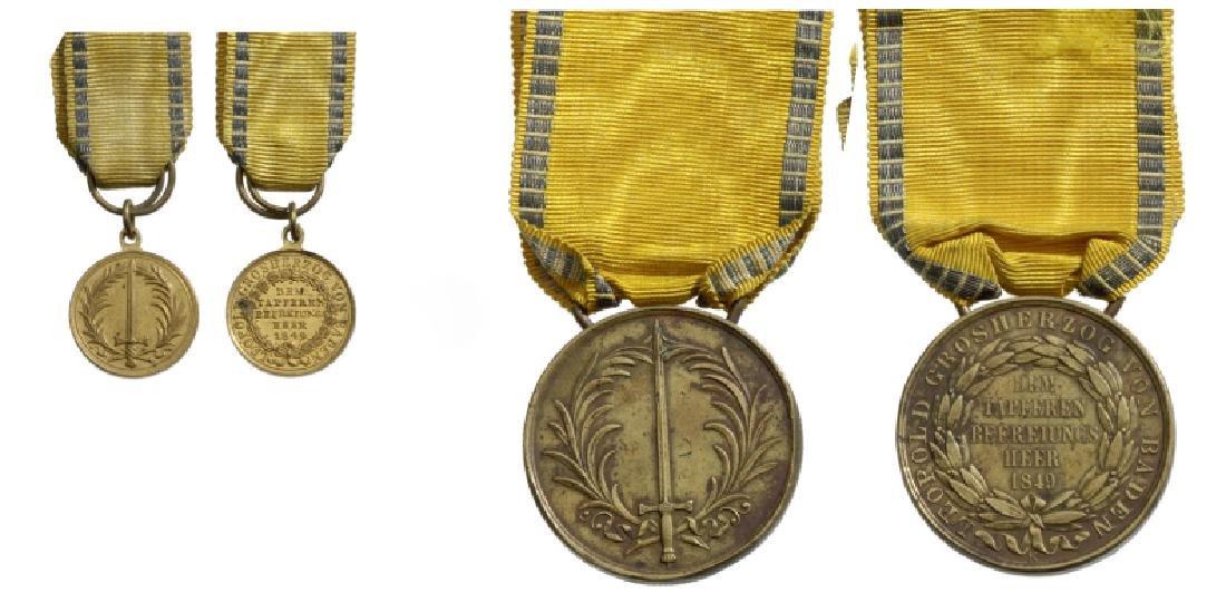 Commemorative Medal 1849