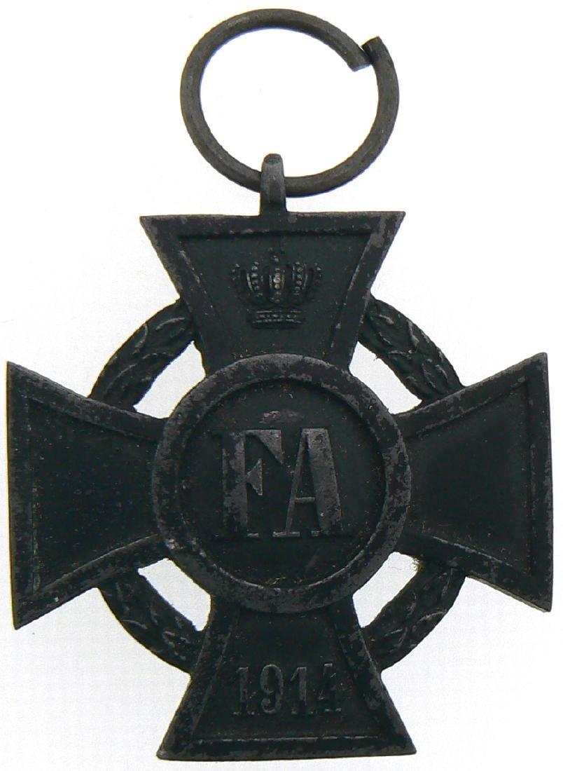 FA Cross, 1914