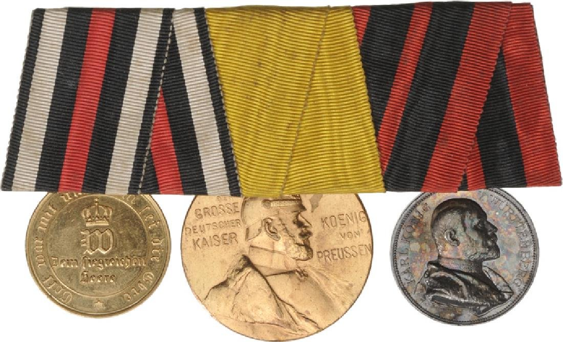 Bar of 3 Medals