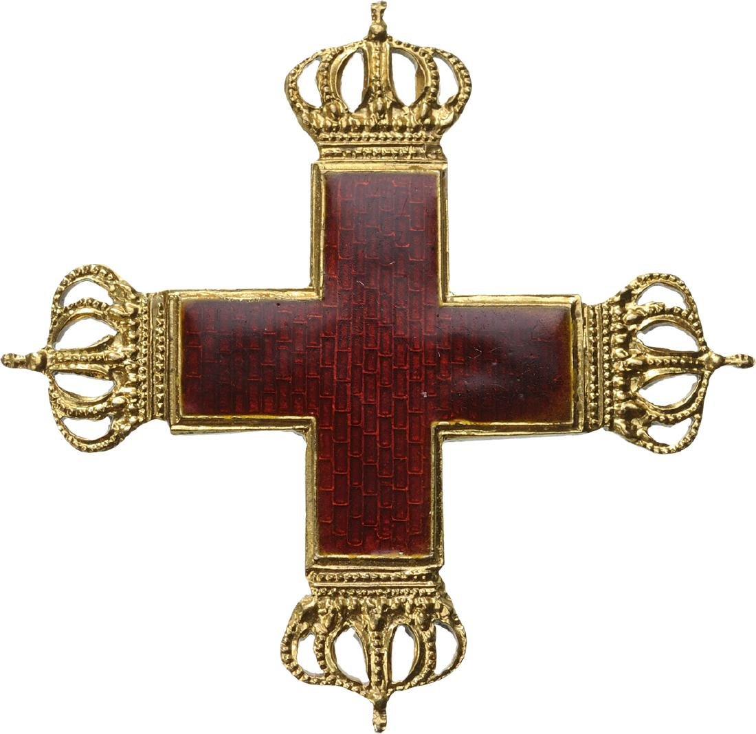 RED CROSS PIN CROSS, INSTITUTED IN 1898