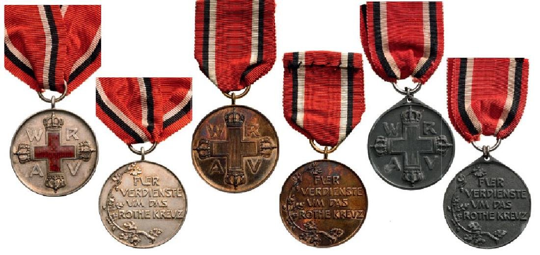 Set of 3 Medals