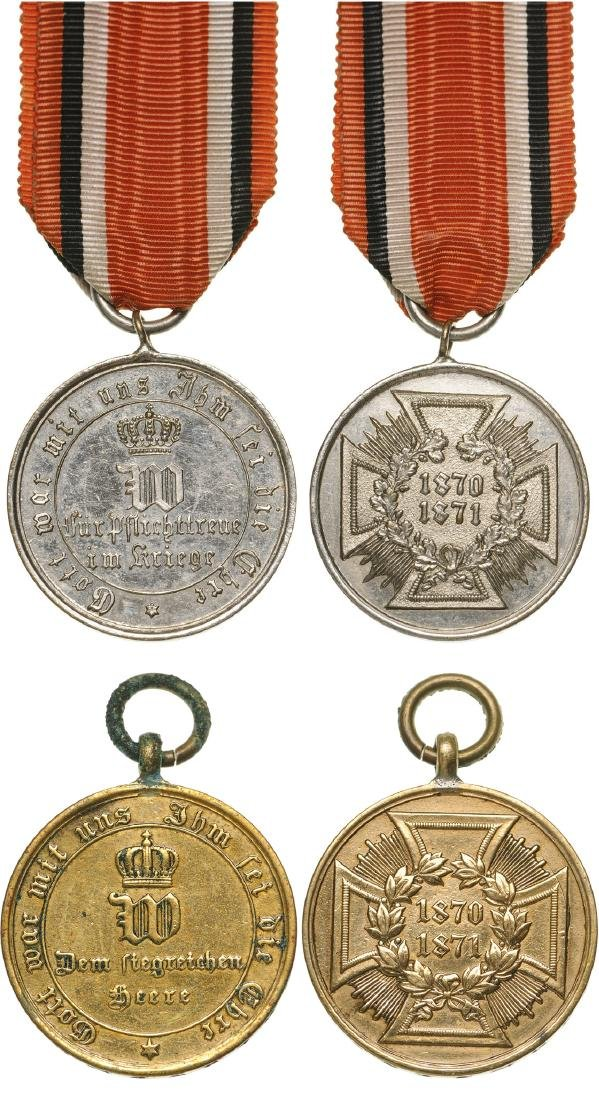 Lot of 2 Medals