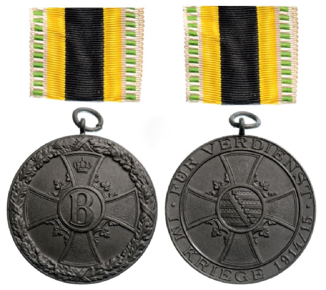 War Merit Bronze Medal, instituted in 1915