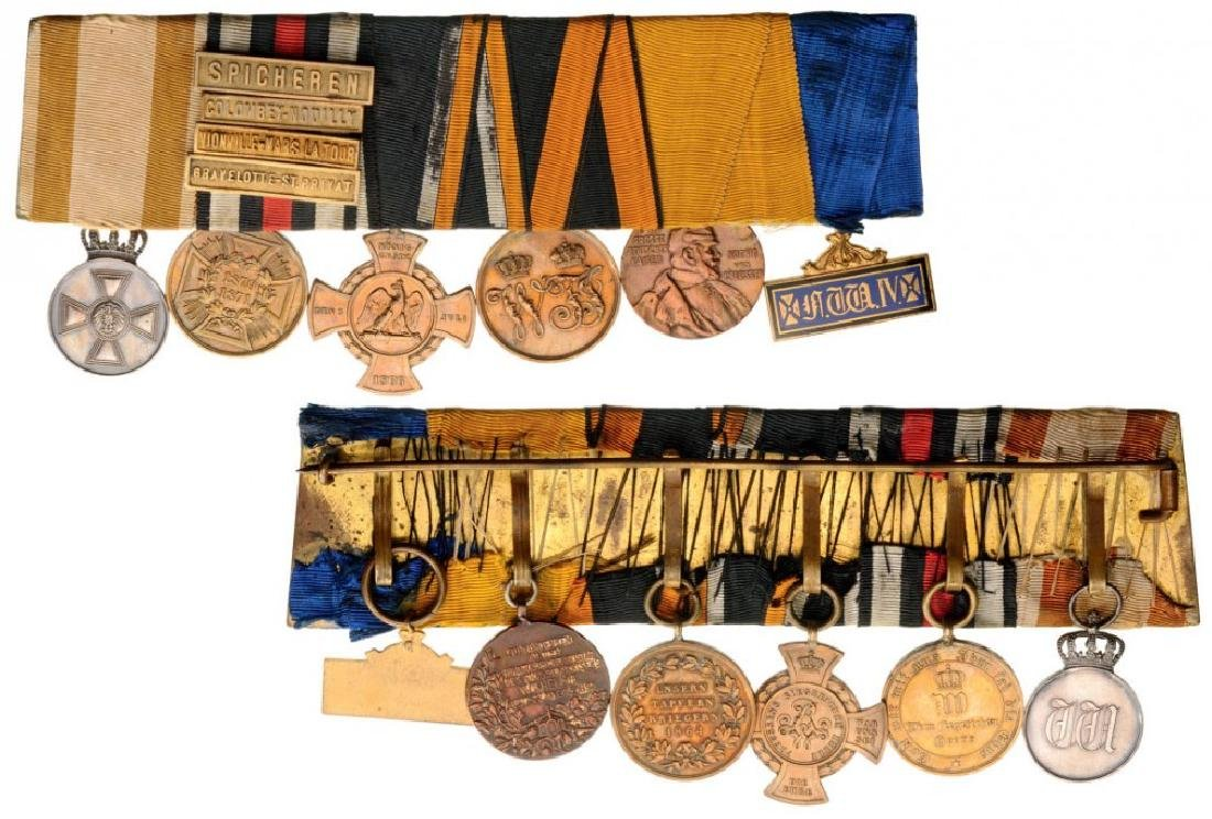 Medal Bar with 6 Decoration