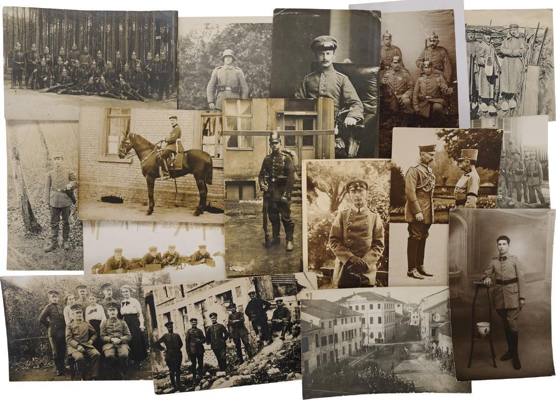 Lot of 27 First World War Postcards and Photos, German